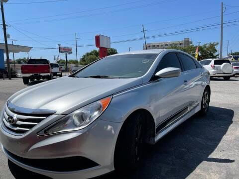 2014 Hyundai Sonata for sale at Always Approved Autos in Tampa FL