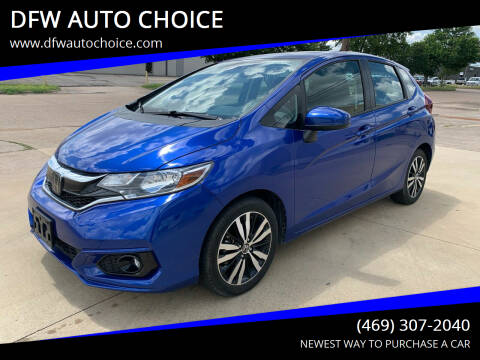 2018 Honda Fit for sale at DFW AUTO CHOICE in Dallas TX