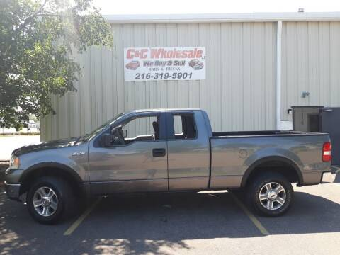 2006 Ford F-150 for sale at C & C Wholesale in Cleveland OH