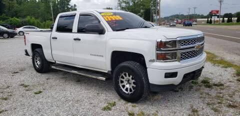 2014 Chevrolet Silverado 1500 for sale at COOPER AUTO SALES in Oneida TN