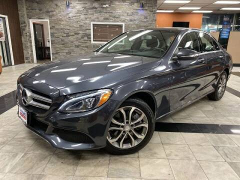 2015 Mercedes-Benz C-Class for sale at Sonias Auto Sales in Worcester MA