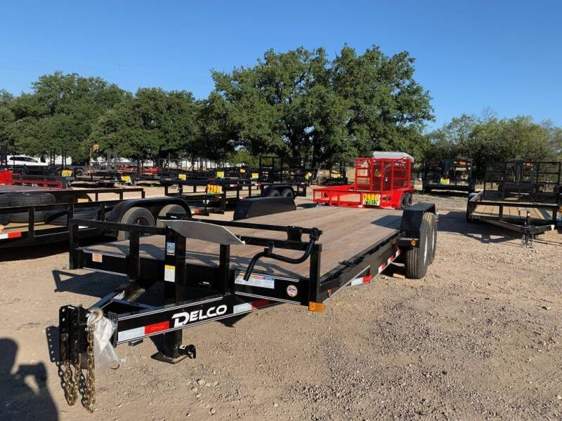 """2021 DELCO  - Equipment 83"""" X 20'  S for sale at LJD Sales in Lampasas TX"""