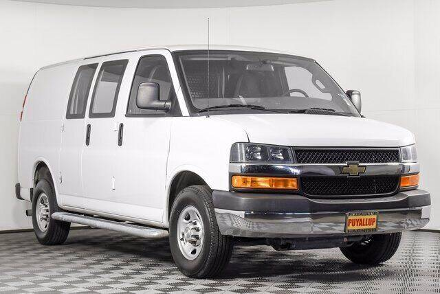 2018 Chevrolet Express Cargo for sale at Chevrolet Buick GMC of Puyallup in Puyallup WA