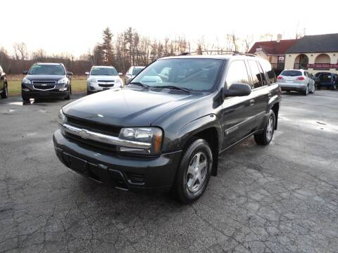 2004 Chevrolet TrailBlazer for sale at Route 111 Auto Sales in Hampstead NH