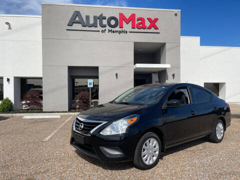 2016 Nissan Versa for sale at AutoMax of Memphis - Darrell James in Memphis TN