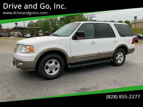 2004 Ford Expedition for sale at Drive and Go, Inc. in Hickory NC