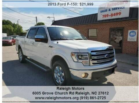 2013 Ford F-150 for sale at Raleigh Motors in Raleigh NC