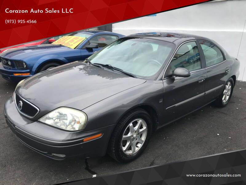 2003 Mercury Sable for sale at Corazon Auto Sales LLC in Paterson NJ