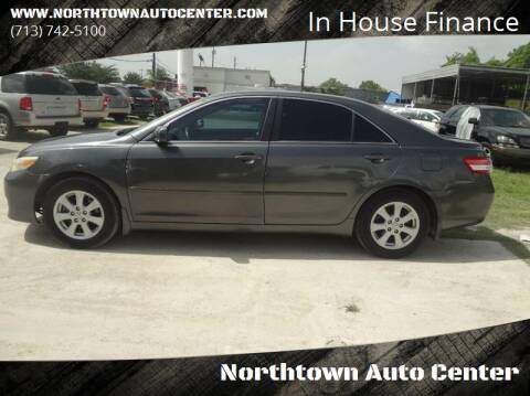 2010 Toyota Camry for sale at Northtown Auto Center in Houston TX