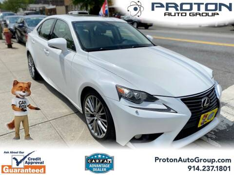 2014 Lexus IS 250 for sale at Proton Auto Group in Yonkers NY