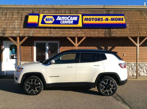 2018 Jeep Compass for sale at MOTORS N MORE in Brainerd MN