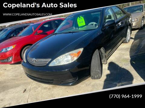2004 Toyota Camry for sale at Copeland's Auto Sales in Union City GA