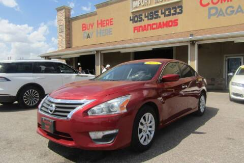 2015 Nissan Altima for sale at Import Motors in Bethany OK
