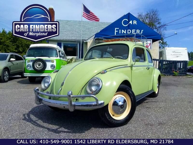 1964 Volkswagen Beetle for sale at CAR FINDERS OF MARYLAND LLC - Classics in Eldersburg MD