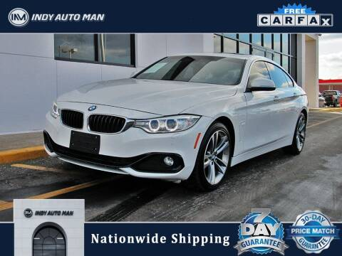 2016 BMW 4 Series for sale at INDY AUTO MAN in Indianapolis IN