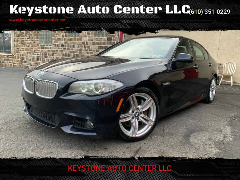 2013 BMW 5 Series for sale at Keystone Auto Center LLC in Allentown PA