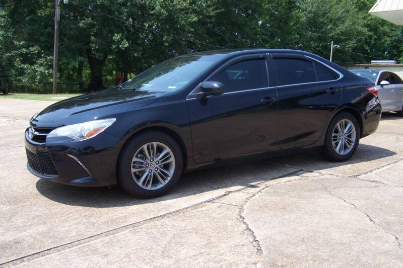 2016 Toyota Camry for sale at HILLCREST MOTORS LLC in Byram MS