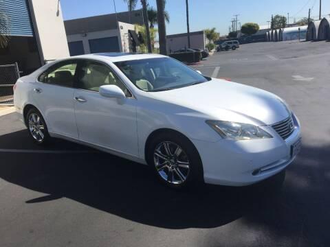 2008 Lexus ES 350 for sale at MANGIONE MOTORS ORANGE COUNTY in Costa Mesa CA