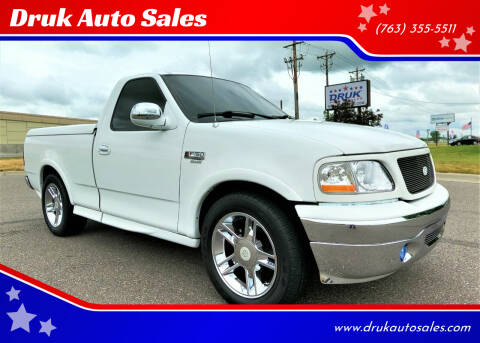 2000 Ford F-150 for sale at Druk Auto Sales in Ramsey MN