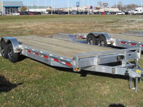 2021 Quality Steel 24' ALUMINUM CAR HAULER for sale at Flaherty's Hi-Tech Motorwerks in Albert Lea MN