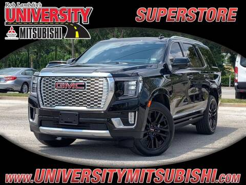 2021 GMC Yukon for sale at University Mitsubishi in Davie FL