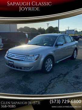 2008 Ford Taurus for sale at Sapaugh Classic Joyride in Salem MO