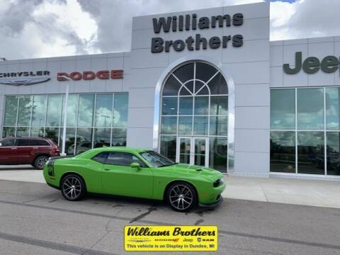 2017 Dodge Challenger for sale at Williams Brothers - Pre-Owned Monroe in Monroe MI