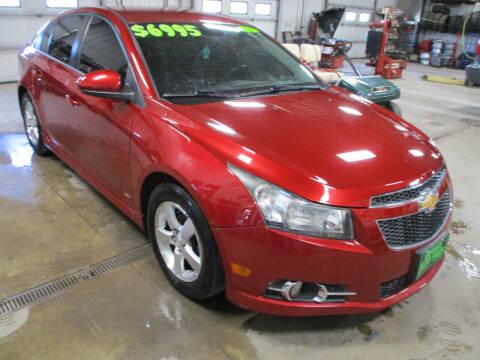 2012 Chevrolet Cruze for sale at Granite Auto Sales in Redgranite WI