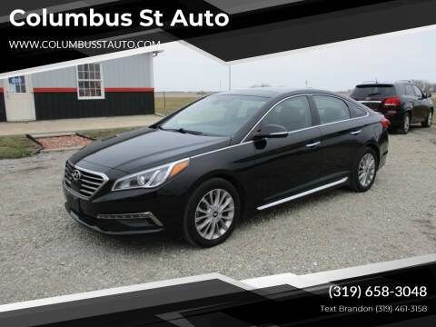 2015 Hyundai Sonata for sale at Columbus St Auto in Crawfordsville IA