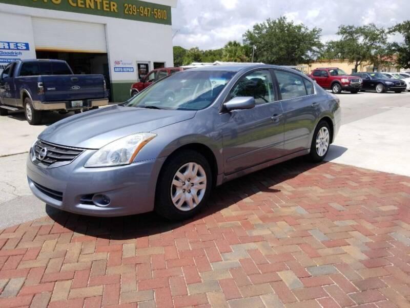 2012 Nissan Altima for sale at Bonita Auto Center in Bonita Springs FL