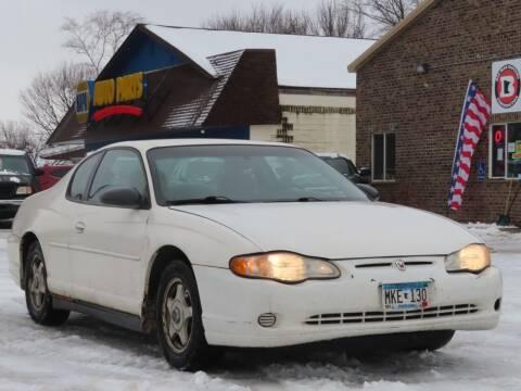 2004 Chevrolet Monte Carlo for sale at Big Man Motors in Farmington MN