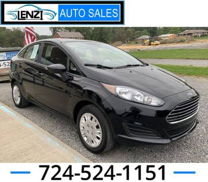 2019 Ford Fiesta for sale at LENZI AUTO SALES in Sarver PA