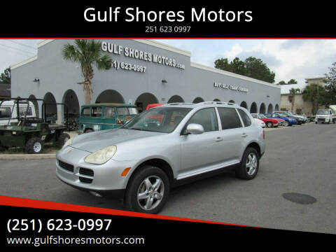 2004 Porsche Cayenne for sale at Gulf Shores Motors in Gulf Shores AL