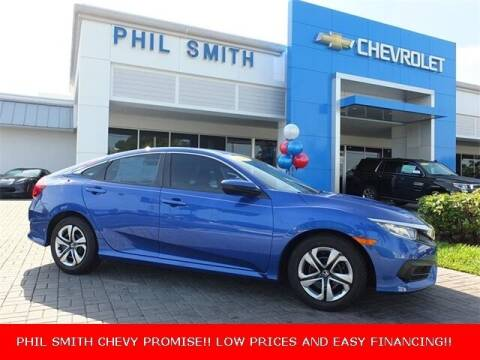 2016 Honda Civic for sale at PHIL SMITH AUTOMOTIVE GROUP - Manager's Specials in Lighthouse Point FL
