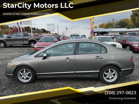 2008 Honda Civic for sale at StarCity Motors LLC in Garden City ID