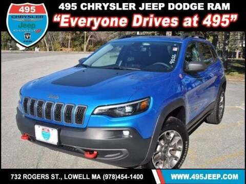 2020 Jeep Cherokee for sale at 495 Chrysler Jeep Dodge Ram in Lowell MA