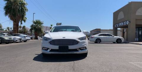 2018 Ford Fusion Hybrid for sale at CASH OR PAYMENTS AUTO SALES in Las Vegas NV