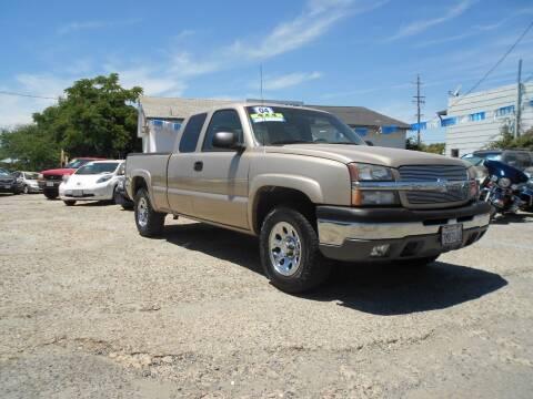 2004 Chevrolet Silverado 1500 for sale at Mountain Auto in Jackson CA