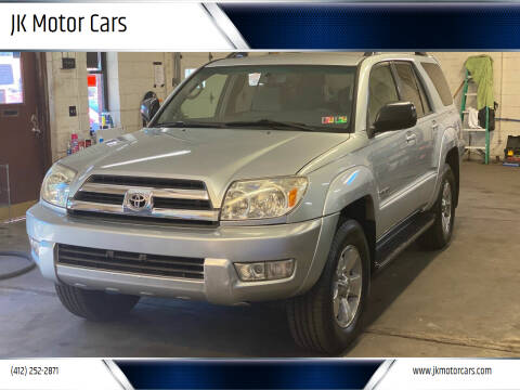2004 Toyota 4Runner for sale at JK Motor Cars in Pittsburgh PA