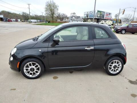 2012 FIAT 500 for sale at Arak Auto Group in Bourbonnais IL