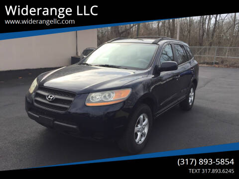 2008 Hyundai Santa Fe for sale at Widerange LLC in Greenwood IN