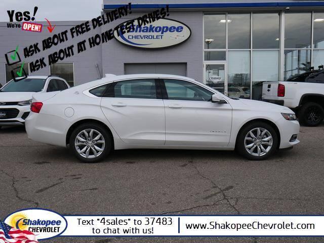 2020 Chevrolet Impala for sale at SHAKOPEE CHEVROLET in Shakopee MN