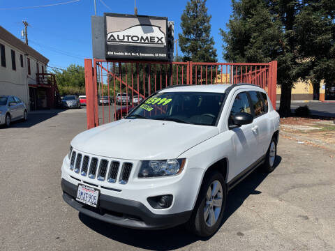 2016 Jeep Compass for sale at AUTOMEX in Sacramento CA