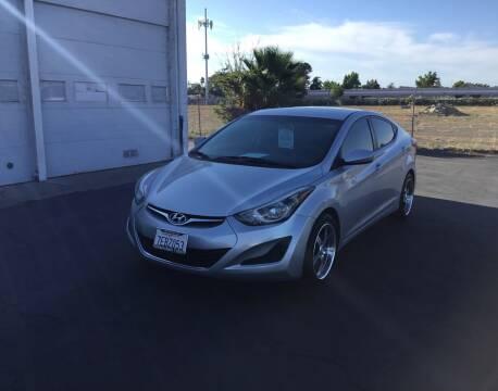 2014 Hyundai Elantra for sale at My Three Sons Auto Sales in Sacramento CA