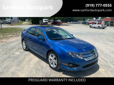 2012 Ford Fusion for sale at Sanford Autopark in Sanford NC