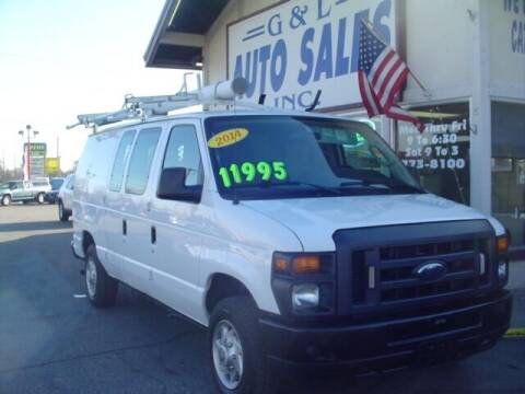 2013 Ford E-Series Cargo for sale at G & L Auto Sales Inc in Roseville MI