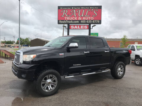 2012 Toyota Tundra for sale at RAUL'S TRUCK & AUTO SALES, INC in Oklahoma City OK
