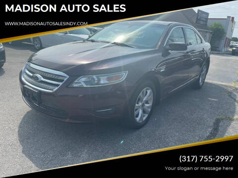 2011 Ford Taurus for sale at MADISON AUTO SALES in Indianapolis IN