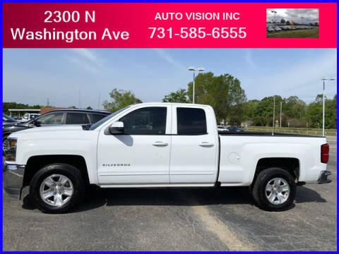 2018 Chevrolet Silverado 1500 for sale at Auto Vision Inc. in Brownsville TN