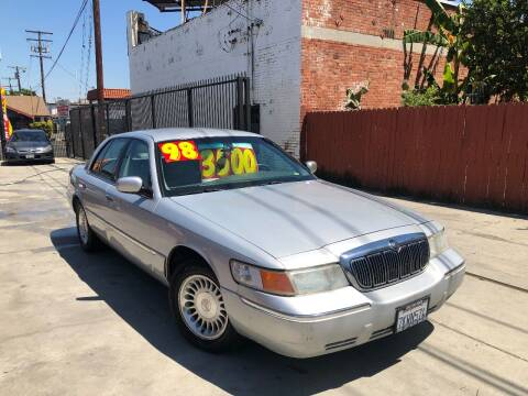 1998 Mercury Grand Marquis for sale at The Lot Auto Sales in Long Beach CA